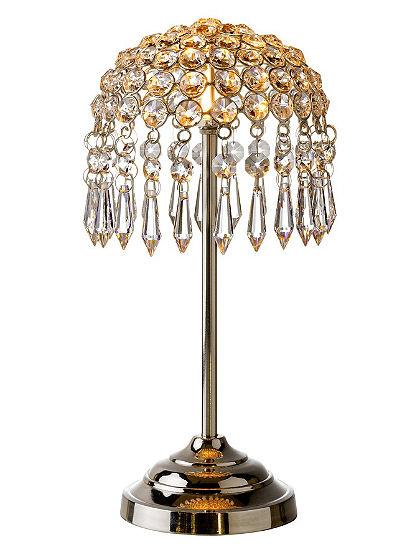 Kryštálová lampa, veľká