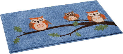 Kúpeľňová predložka, Grund »sovy«