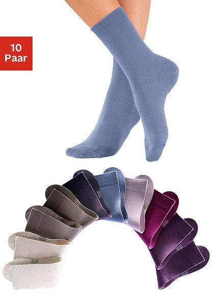 Ponožky 10 pároch