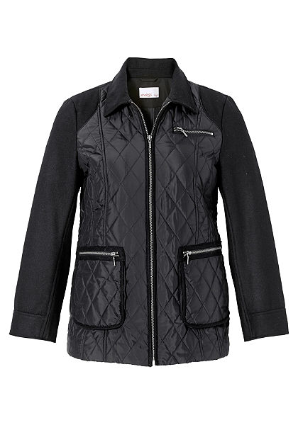 sheego Style Prešívaná bunda