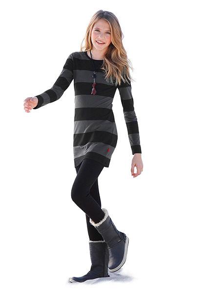 CFL Šaty a legíny pro dívky (Souprava, 2dílná)