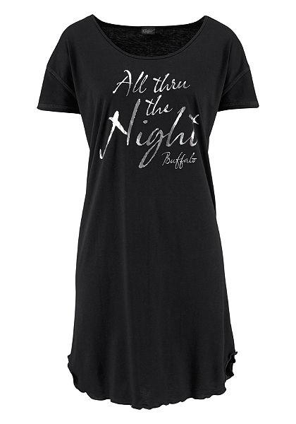 Nočná košeľa, Buffalo