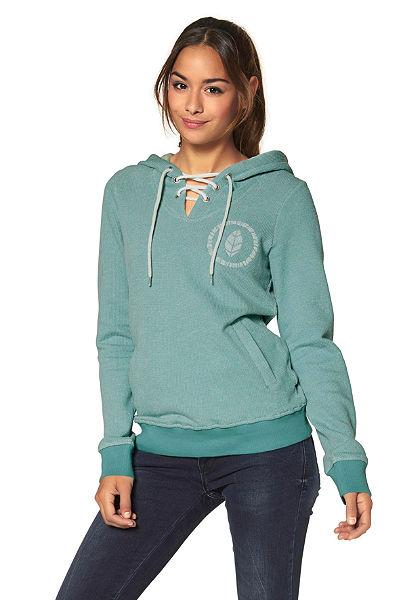 Ocean Sportswear kapucnis hosszú ujjú felső