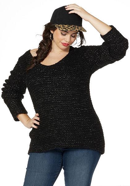 sheego Trend Kötött pulóver
