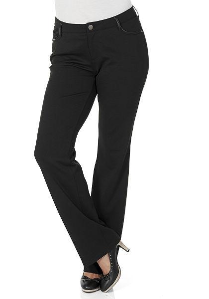 sheego Classic Dzsörzé nadrág, »egyenes szárú«
