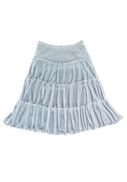 Plážová krátka sukňa