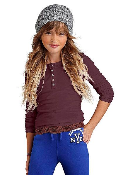 Kangaroos Tričko s dlhými rukávmi, pre dievčatá