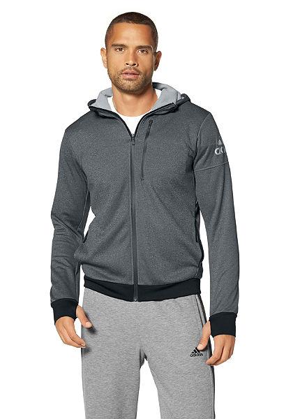 adidas Performance Športová bunda s kapucňou