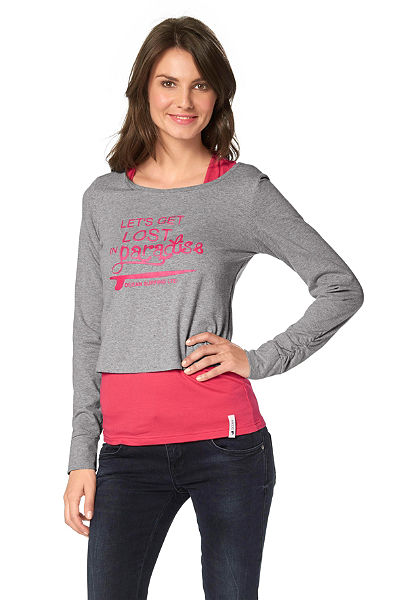 OCEAN Sportswear Tričko s dlhým rukávom+top