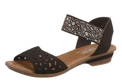 Pásikavé sandále, Rieker