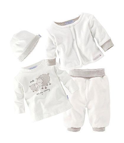 Klitzeklein Tričko s dlhým rukávom, nohavice, sveter a čiapka