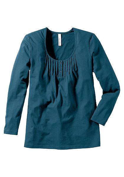 sheego Style Hosszú ujjú póló
