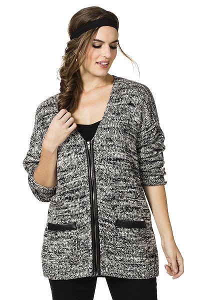 Pletený svetr, sheego Trend