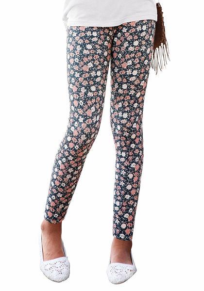 Arizona Lányka Legging virág nyomott mintával