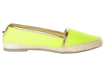 Plátené topánky