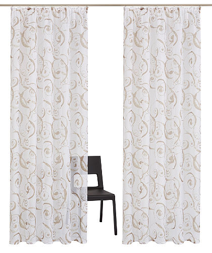 Záclona, my home »Riva« (2 ks)