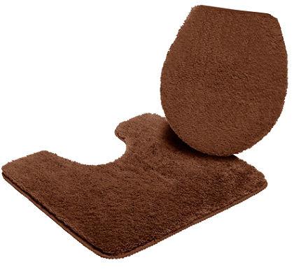 Fürdőszobaszőnyeg, álló WC szett, my home, »Merida«, magasság 32mm, csúszásgátló hátoldallal