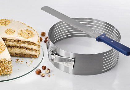 Krájecí pomůcka dortového korpusu v sadě »Varino« Dr. Oetker (2 kusy)