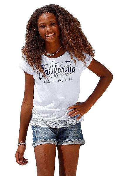 Arizona Tričko s krajkou, pro dívky