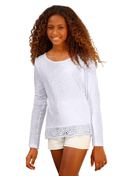 Arizona Tričko s dlhým rukávom, pre dievčatá