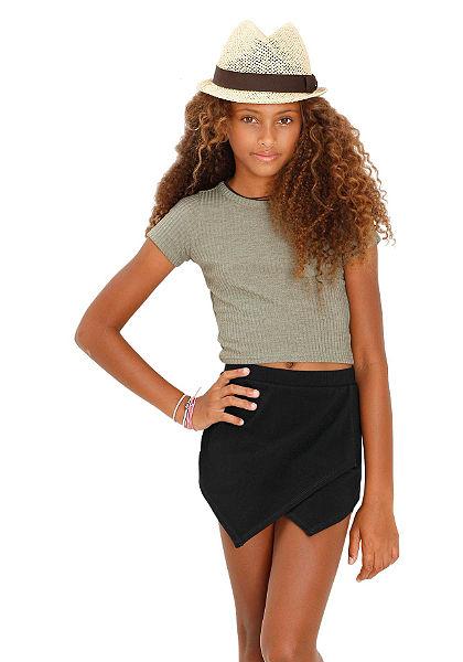 Buffalo nadrágszoknya kombináció rövidnadrág+szoknyából, lányoknak