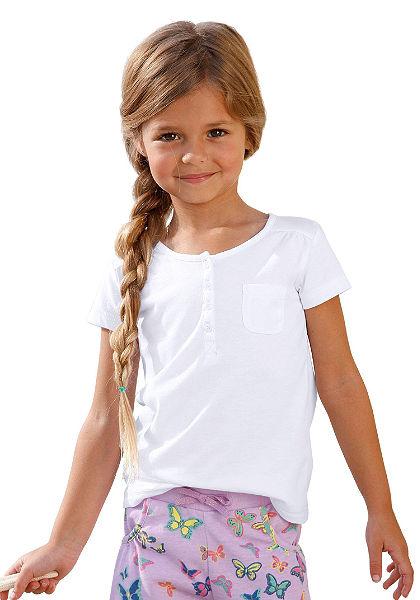 CFL Tričko s légou na knoflíky, pro dívky