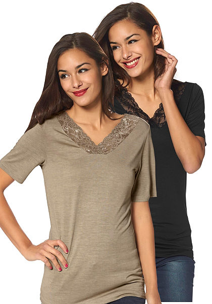 Vero Moda Dlouhé tričko »po 2ks«