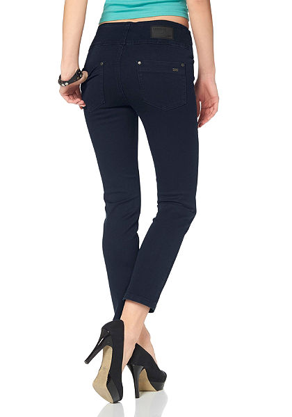Arizona 7/8 džínsy »s pohodlným pásom«