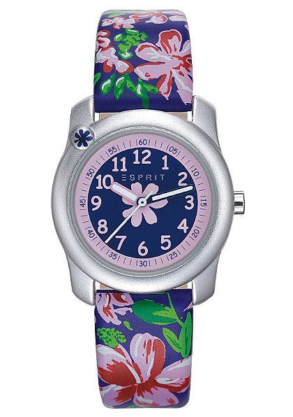 Karóra, »tropical flowers purple, ES108344001«, Esprit