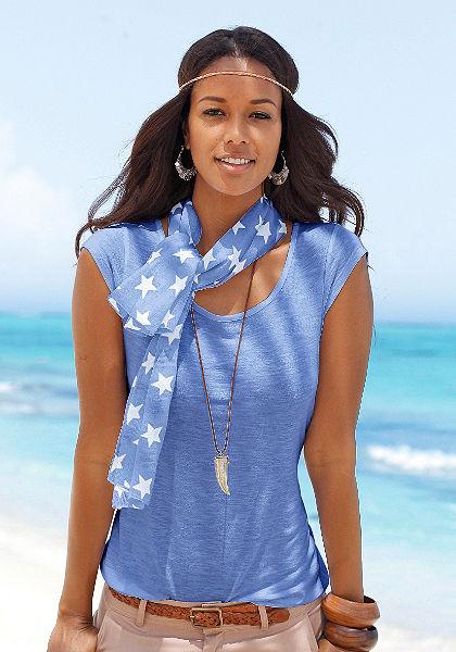 Beach Time Tričko a šál