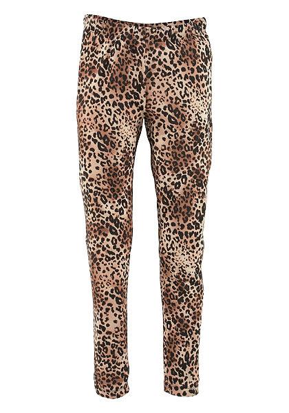Buffalo legging leopárd mintával, lányoknak
