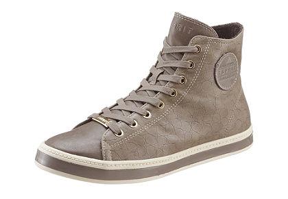 Esprit magasszárú cipő kigyóbőr hatású mintával