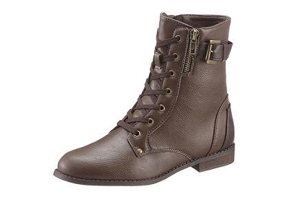 City Walk magas szárú cipő fűzővel