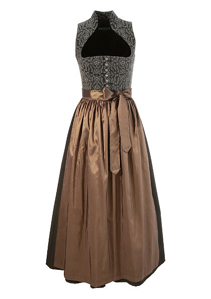 Dirndl hosszú ruha álló gallérral, Berwin & Wolff
