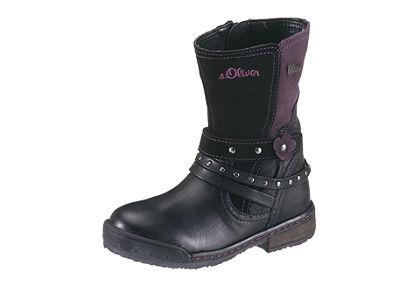 s.Oliver magasszárú cipő