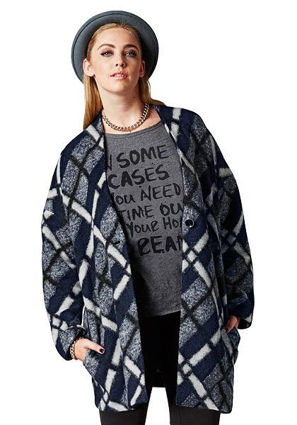 sheego Trend rövid kabát