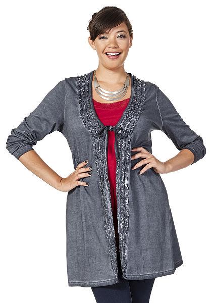 sheego Style Žerzejový svetr