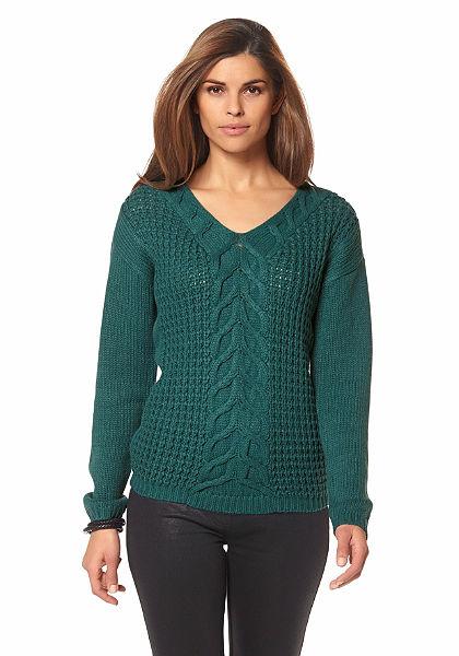 Chillytime V kivágású pulóver