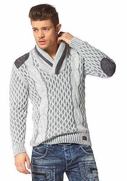 Cipo & Baxx sálgalléros pulóver