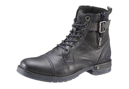 Šnurovacie vysoké topánky