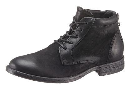 John Devin fűzős magasszárú cipő alkalmi megjelenésben