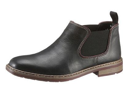 RIEKER Chelsea magasszárú cipő