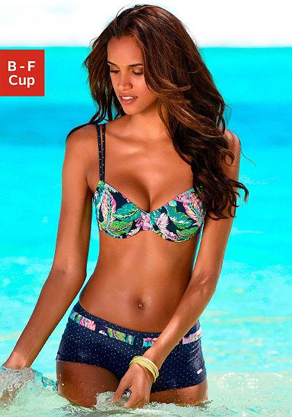 Merevítős bikinifelső