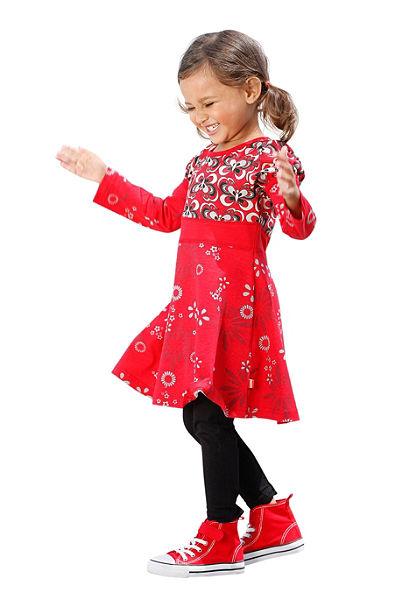 Kidoki dzsörzé ruha legginggel (szett, 2db), lányoknak