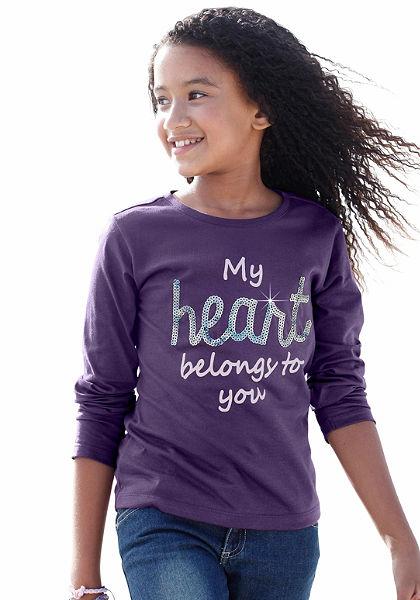 CFL Tričko s dlouhým rukávem, pro dívky