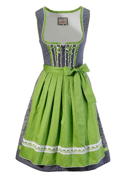 Dirndl közepes hosszúságú ruha farmer hatással, Stockerpoint