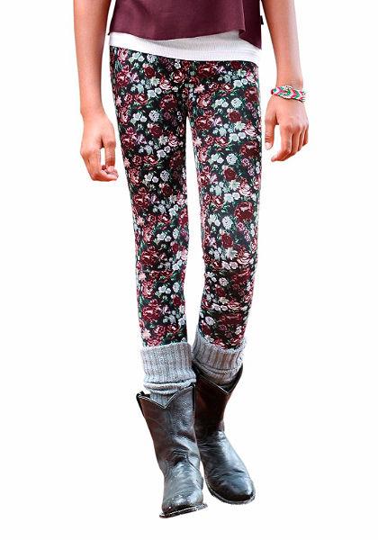 Arizona legging virág mintával, lányoknak