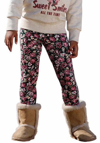 Kidoki legging virág mintával, lányoknak