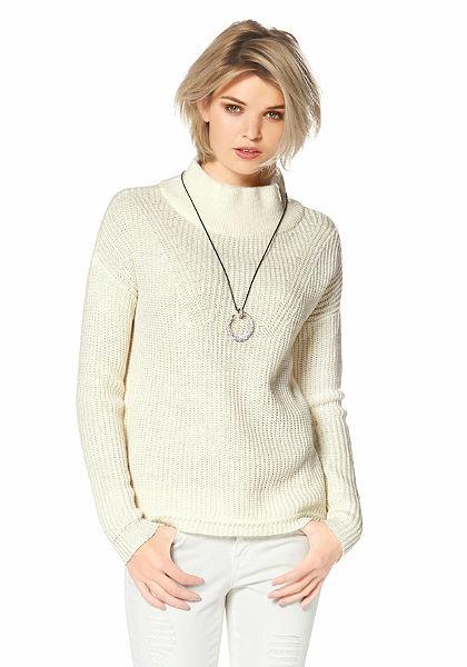 Laura Scott álló galléros pulóver