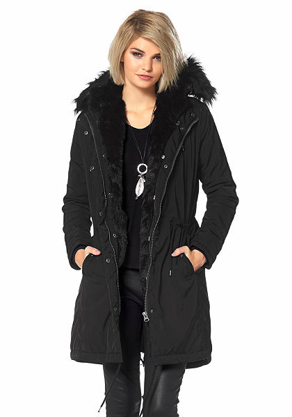 Laura Scott Kabát z imitace kožešiny